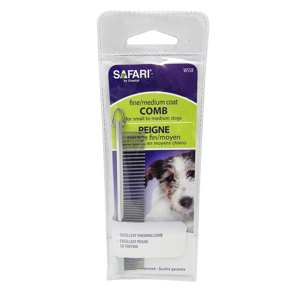 Dog Grooming Comb 4.5 inch Med/Fine Tooth