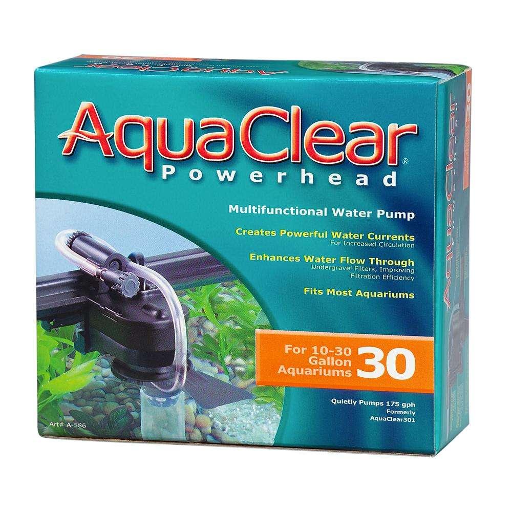 AquaClear Power Head Submersible Aquarium Pump Model 30