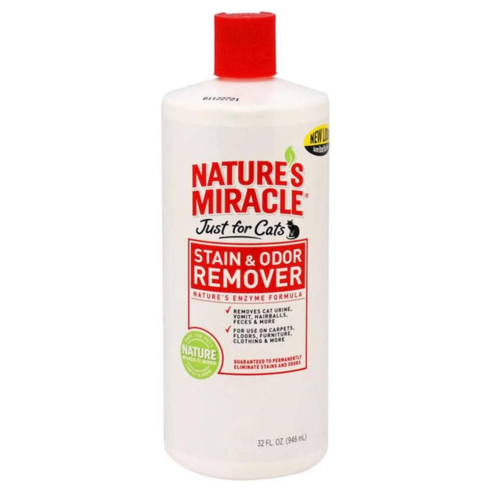 Natures Miracle For Cats 32 ounce Stain and Odor Remover