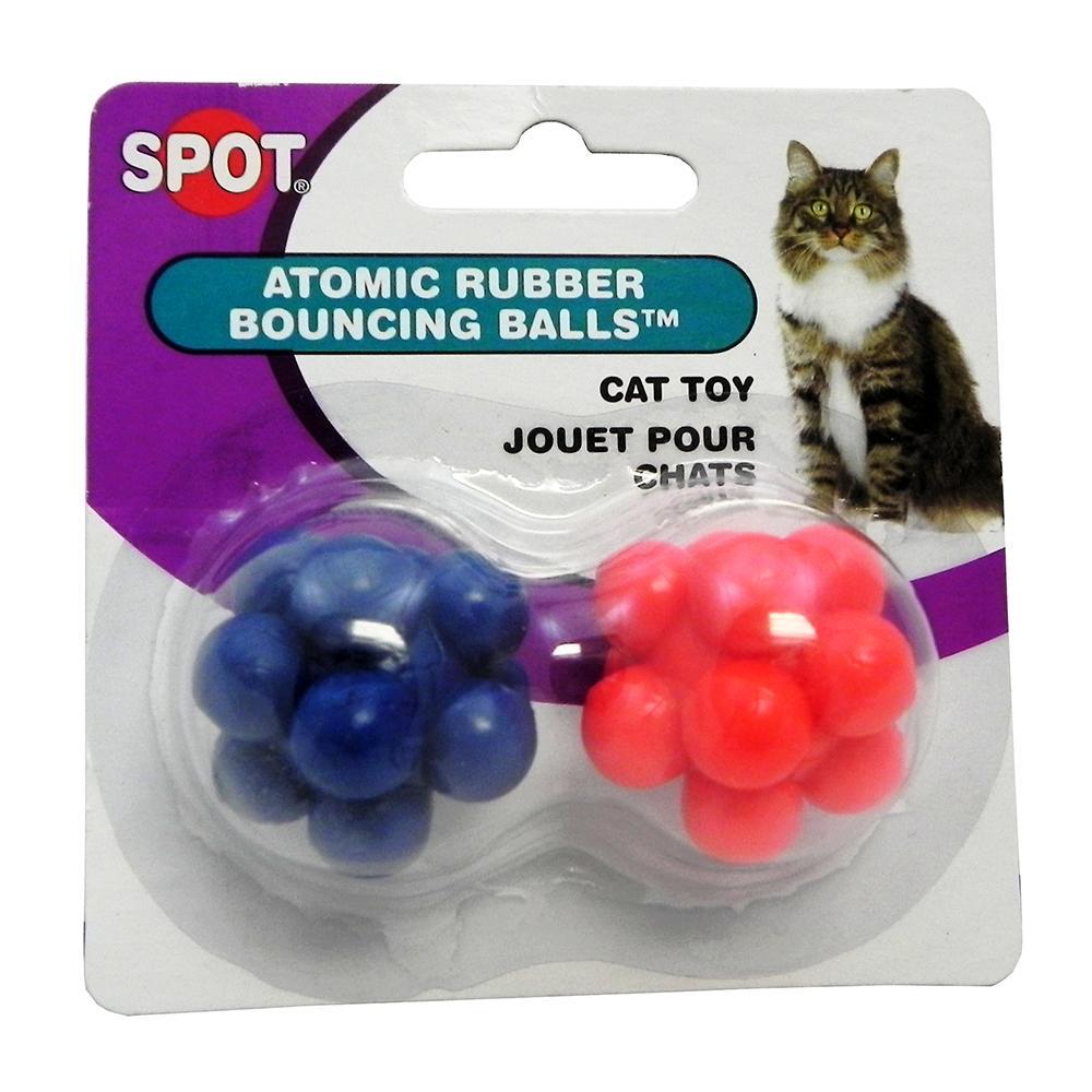 Spotnips Atomic Ball 2 pack Cat Toy