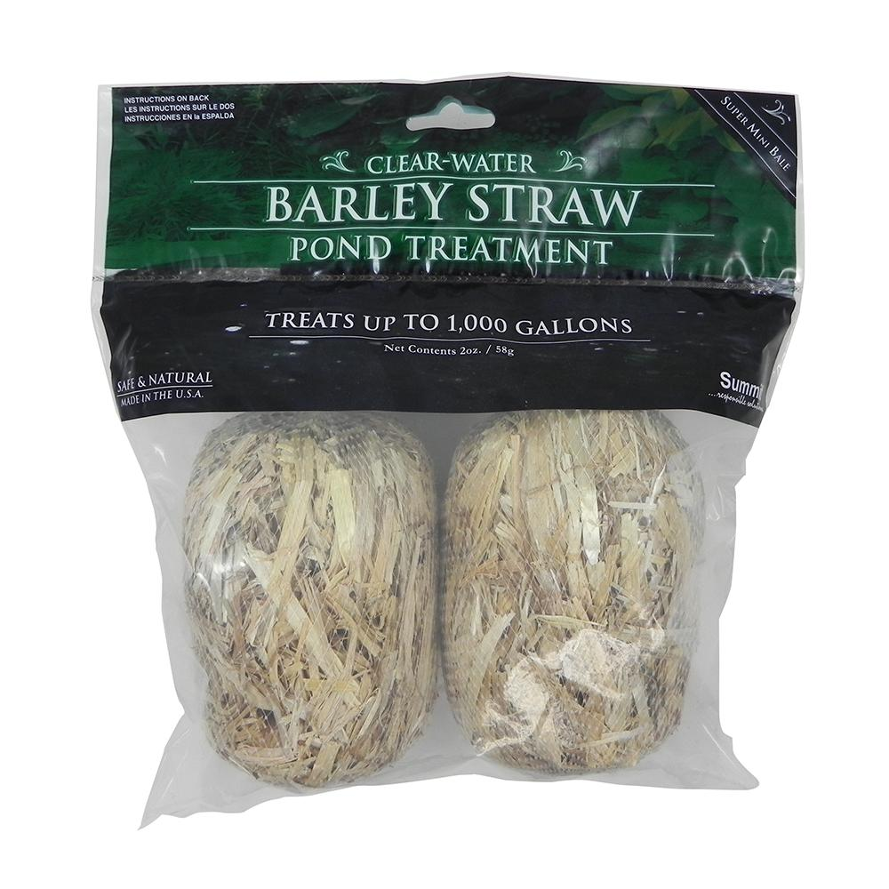 Clear Water Barley Straw 1000 Gal Pond Treatment