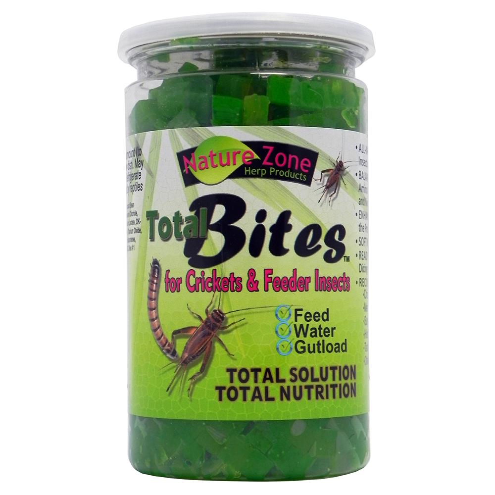 Cricket Total Bites 9 ounce Insect Food
