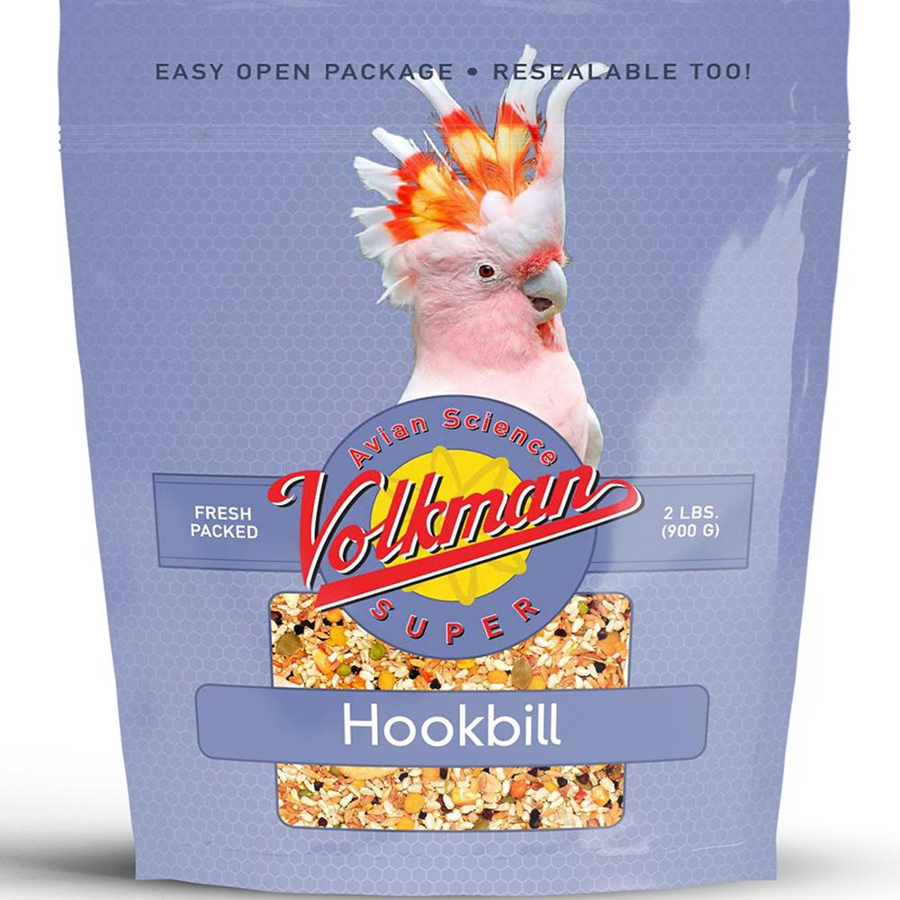 Avian Science Super Hookbill 2 pound Parrot Bird Seed