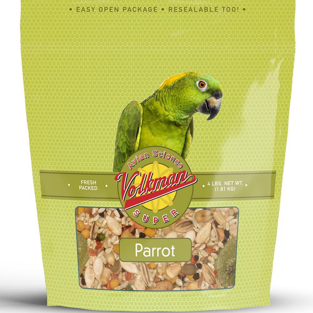 Volkman Avian Science Super Parrot Seed Mix 4 lb