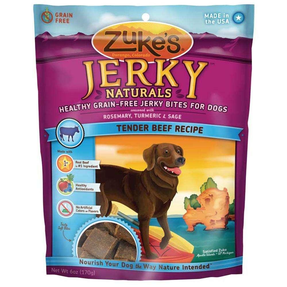 Zuke's Jerky Naturals Beef Dog Treat