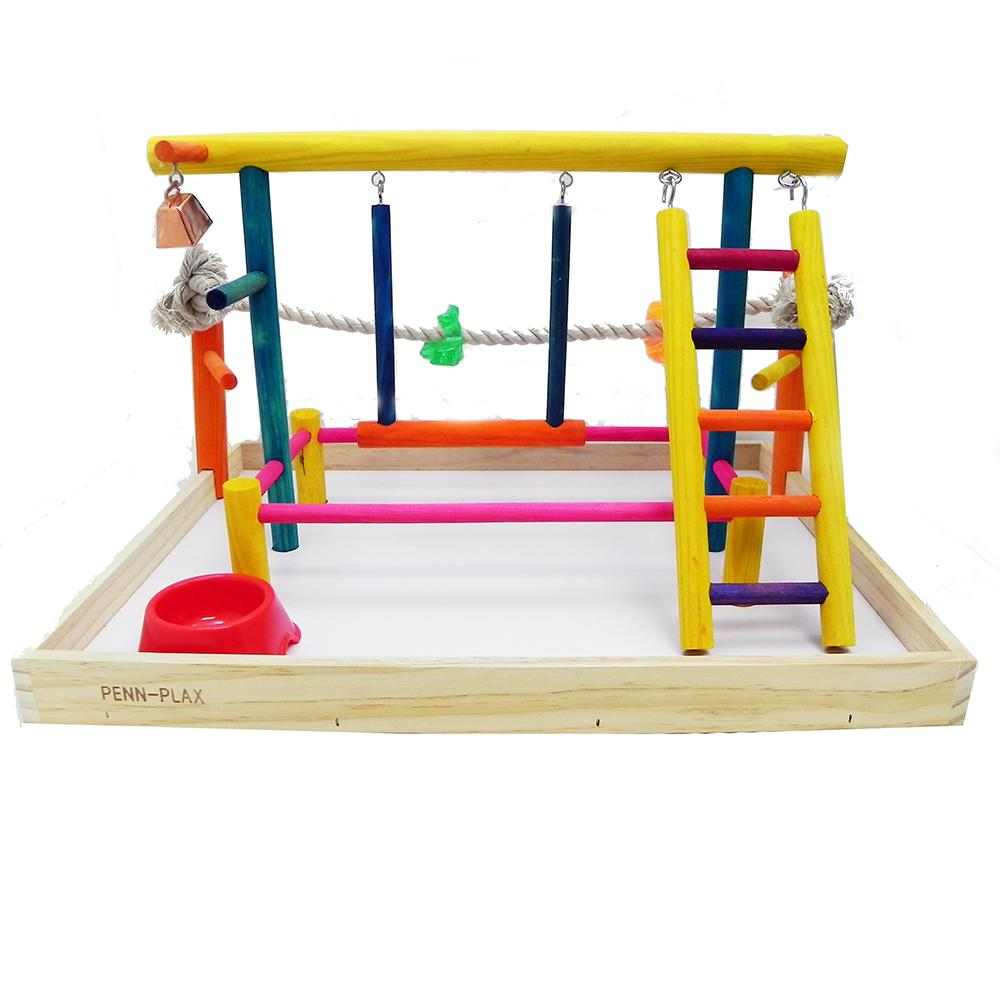 Penn Plax Play Center Extra Large Bird Playpen
