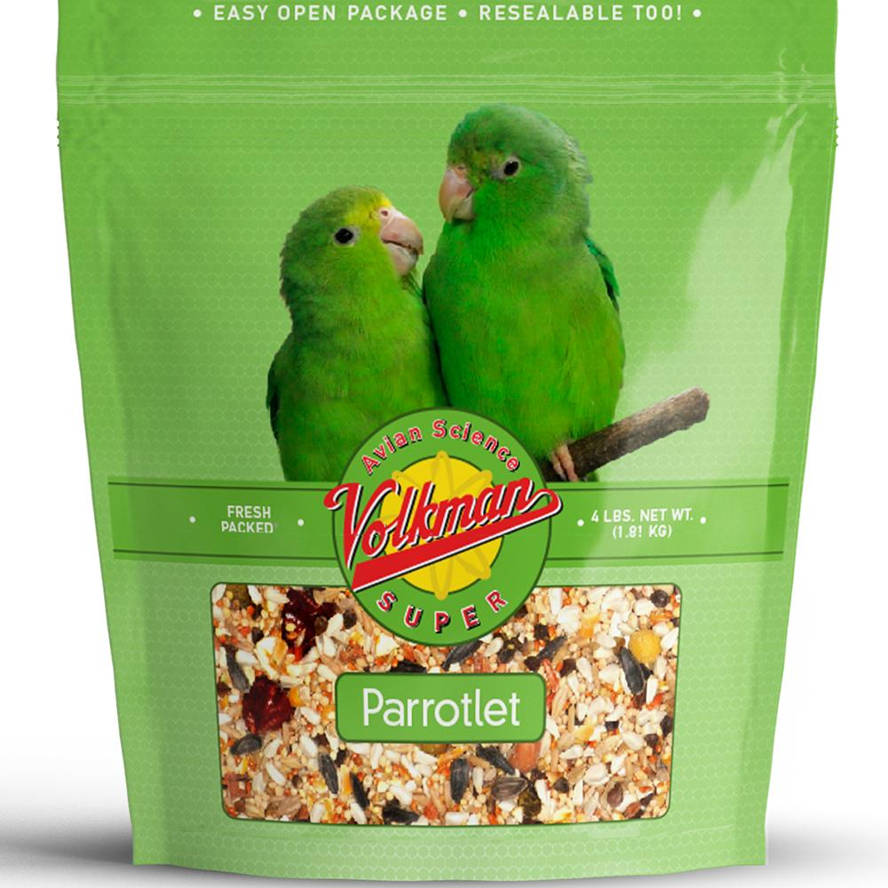 Volkman Avian Science Super Parrotlet 4 pounds Bird Seed