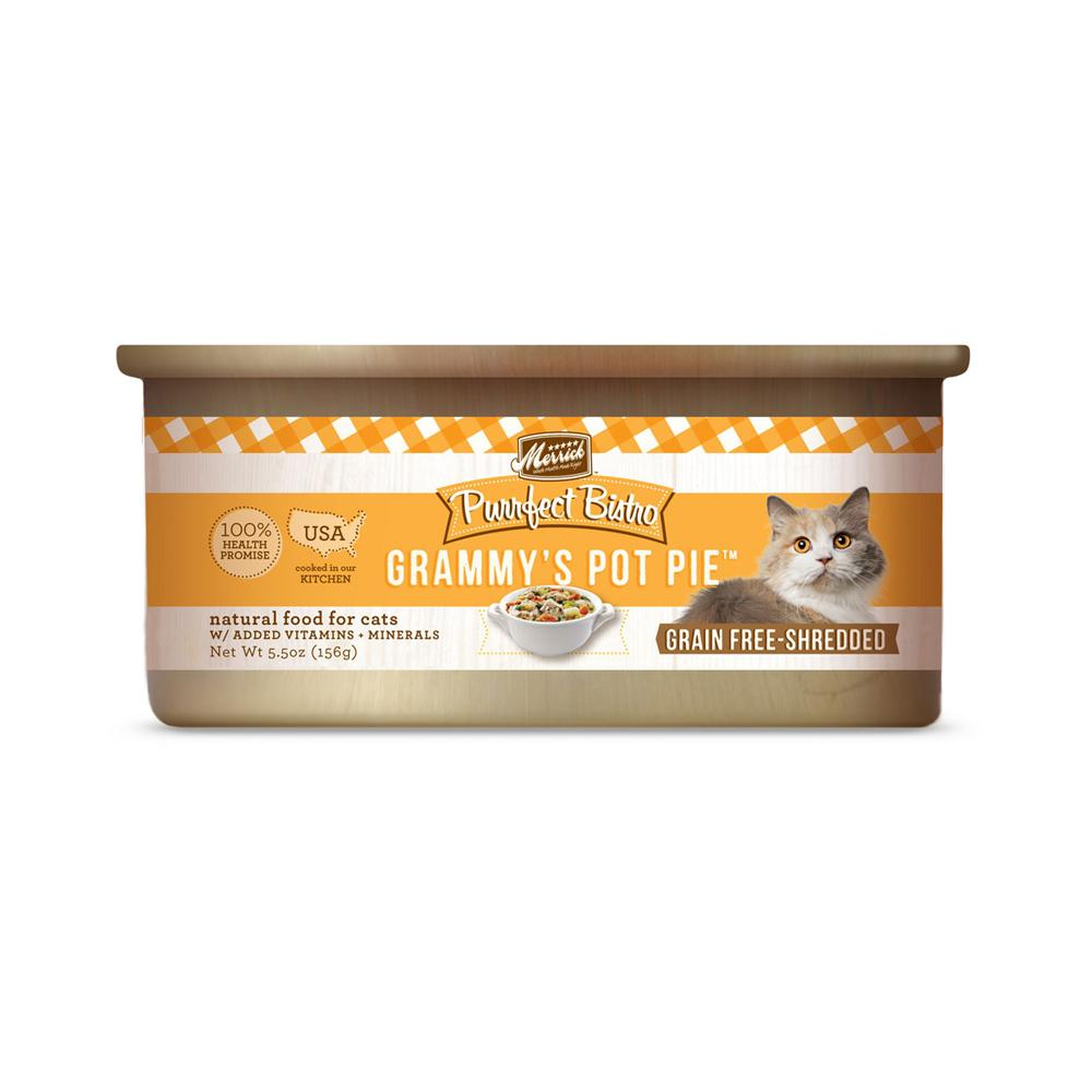 Merrick Grammys' Pot Pie Dog Food 5.5 ounce Case
