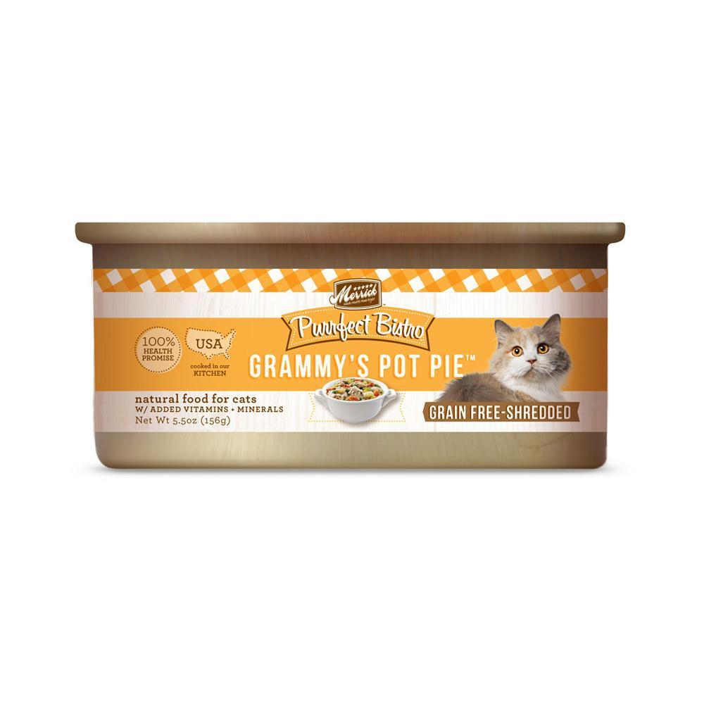 Merrick Grammys' Pot Pie Cat Food 5.5 ounce Each