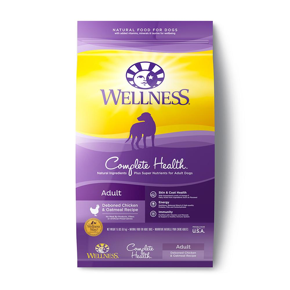Wellness Super5Mix Chicken Recipe Dog Food 15 Lb.