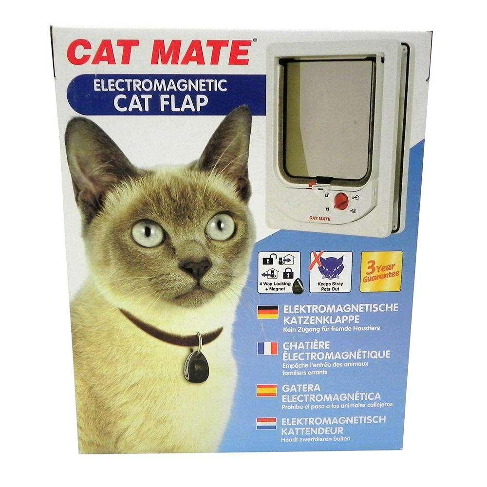 Animate Electromagnetic Cat Door