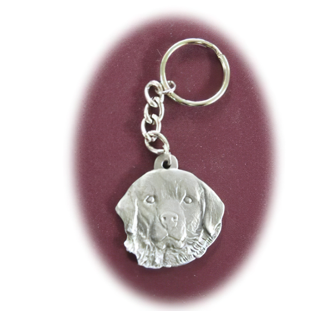 Pewter Key Chain I Love My Great Pyrenees