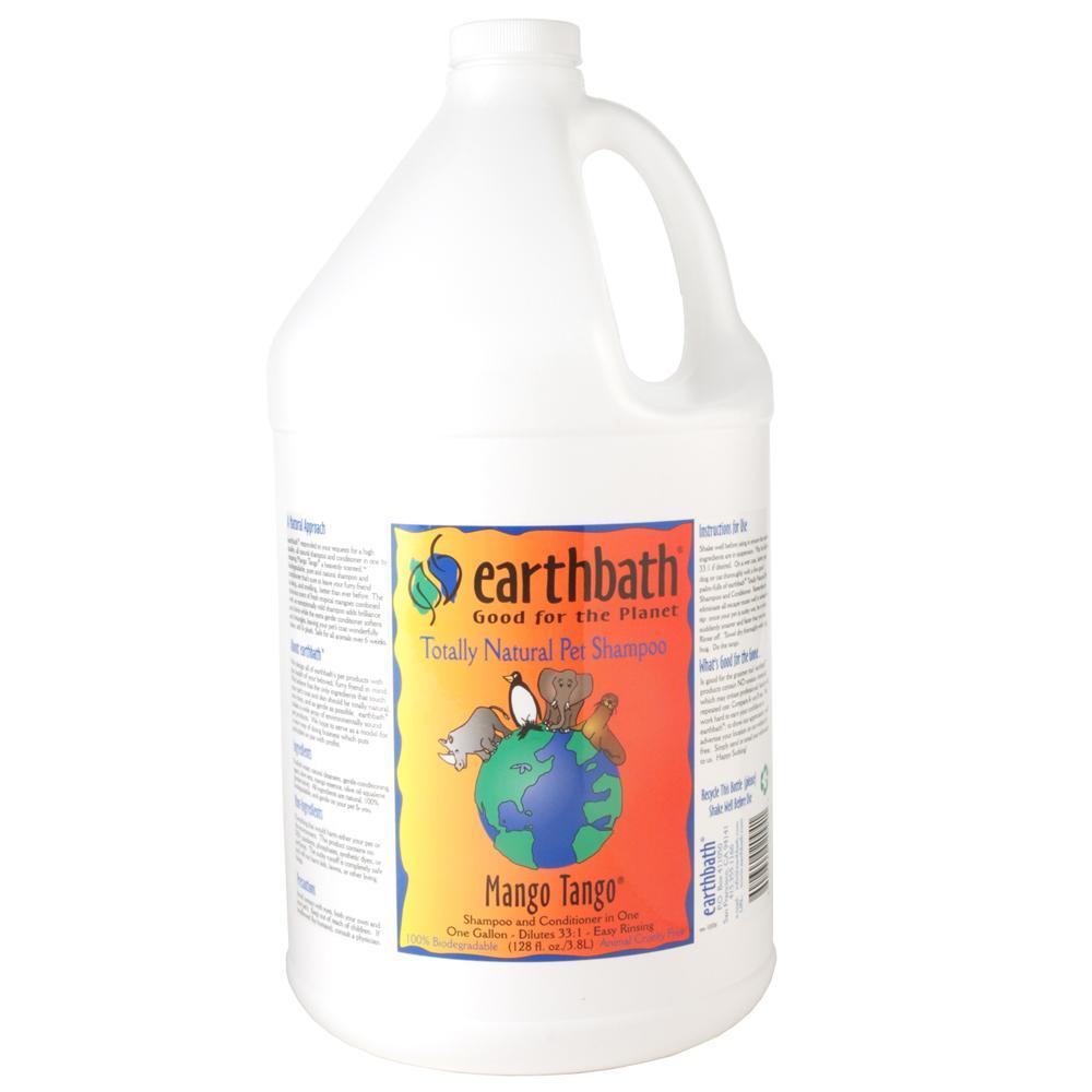 Earthbath Pet Shampoo Mango Tango Gallon